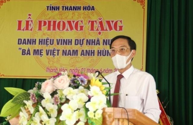Trao tặng mẹ Lê Thị Kính danh hiệu Bà mẹ Việt Nam anh hùng - 2