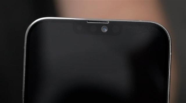 Phần khuyết đỉnh trên iPhone 13 sẽ được làm gọn hơn so với các thế hệ trước.