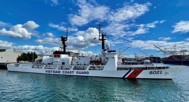 Tàu tuần duyên Mỹ chuyển cho Việt Nam khởi hành về nước - 1