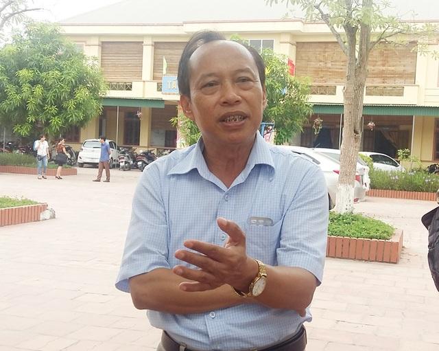 Ông Trần Thế Sơn - Trưởng phòng GD Tiểu học, Sở GD-ĐT Nghệ An.
