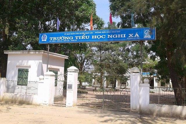 Trường TH Nghi Xá (huyện Nghi Lộc, Nghệ An)) là 1 trong 13 trường tiểu học không được công nhận lại là trường chuẩn quốc gia
