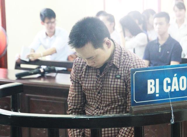 Trương Văn Quang tại phiên tòa.