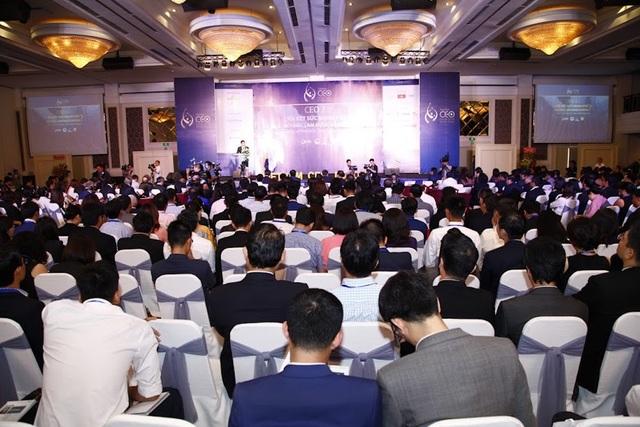 Các doanh nhân tham dự CEO Forum