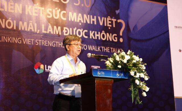 Luật sư Trương Trọng Nghĩa cho rằng các doanh nghiệp Việt muốn vươn ra biển lớn phải biết liên kết một cách nghiêm túc và lan toả sức mạnh trong mọi hoạt động kinh doanh