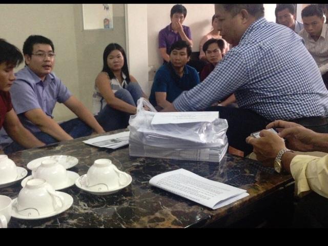Rất nhiều người dân Gia Lai xuống TPHCM để tố giác ông L. và đồng bọn