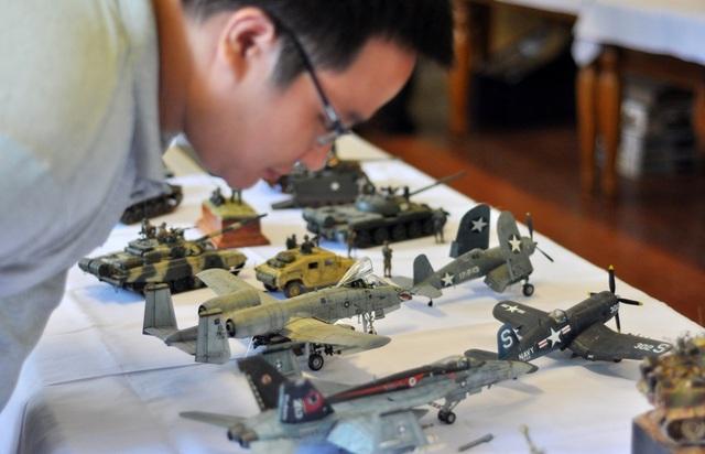 Các loại máy bay chiến đấu hiện đại bậc nhất thế giới cũng được mang đến trưng bày trong triển lãm