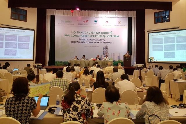 Hơn 130 đại biểu trong nước và quốc tế tham dự hội thảo về KCN sinh thái diễn ra tại Hội An ngày 29/9