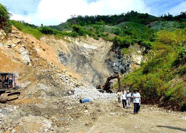 Nơi dự kiến đặt nhà máy thép Việt Pháp. Tỉnh Quảng Nam khẳng định nhà máy thép sẽ không ảnh hưởng đến nguồn nước Vu Gia - Thu Bồn