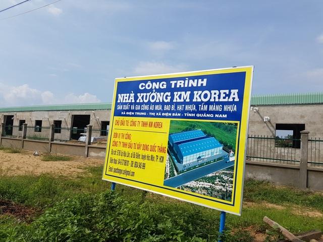Nhà máy được xây dựng khi không có giấy phép xây dựng, không đánh giá tác động môi trường…