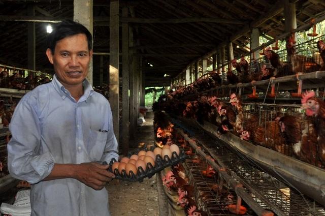 Chủ trại gà Phạm Văn Ảnh