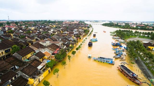 Lũ lụt cũng là một sản phẩm du lịch của Hội An