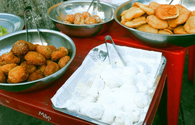 Nhiều món bánh được người dân và du khách ưa thích