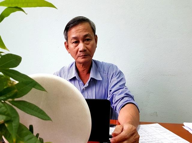 Chủ tịch xã Điện Hòa – ông Nguyễn Văn Hải – trao đổi với PV Dân trí chiều ngày 13/12
