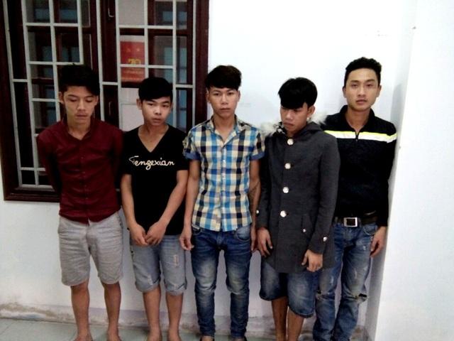 Nhóm thanh niên hành hung anh Trần Quang Hương