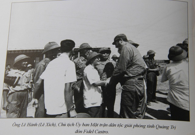 Những khoảnh khắc đầy xúc động của chủ tịch Fidel Castro trong chuyến thăm Quảng Trị - 1