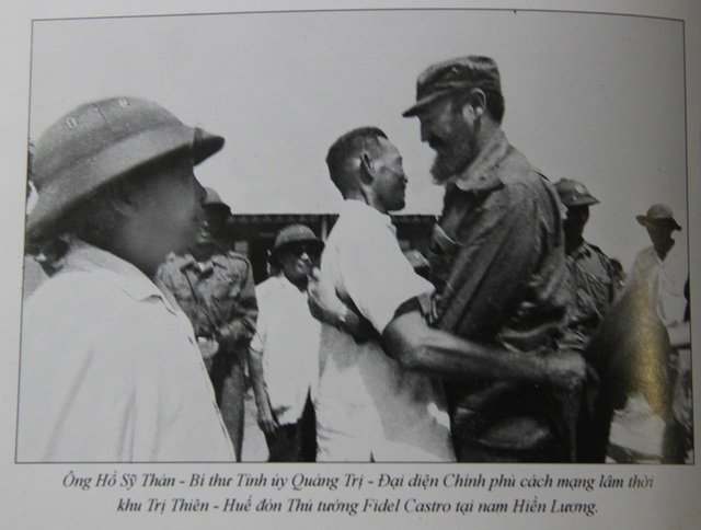 Những khoảnh khắc đầy xúc động của chủ tịch Fidel Castro trong chuyến thăm Quảng Trị - 2