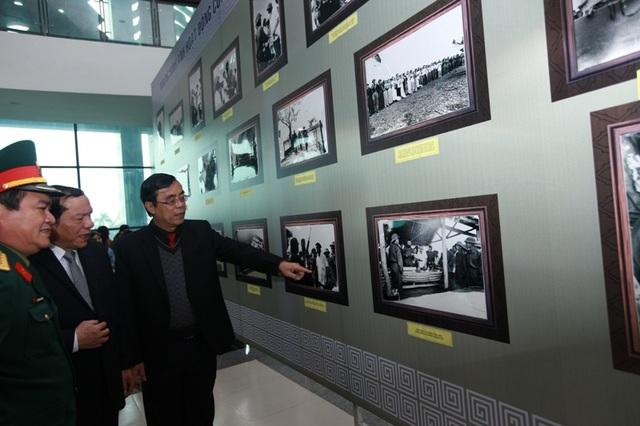 Triển lãm hình ảnh tư liệu về lãnh tụ Cuba trong chuyến thăm Quảng Trị năm 1973