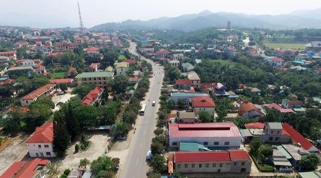 Một góc thị trấn Khe Sanh hôm nay (Ảnh L.T)
