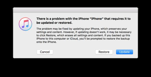 Nhiều người đã gặp phải sự cố gián đoạn khi tiến hành cập nhật lên iOS 10