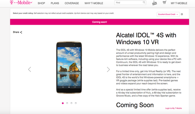 Hé lộ smartphone chạy Windows 10 đầu tiên có hỗ trợ thực tế ảo - 2