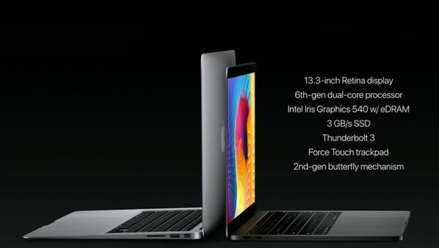 """Apple ra mắt MacBook Pro 2016 với thiết kế mới cùng Touch Bar """"siêu năng lực"""" - 1"""