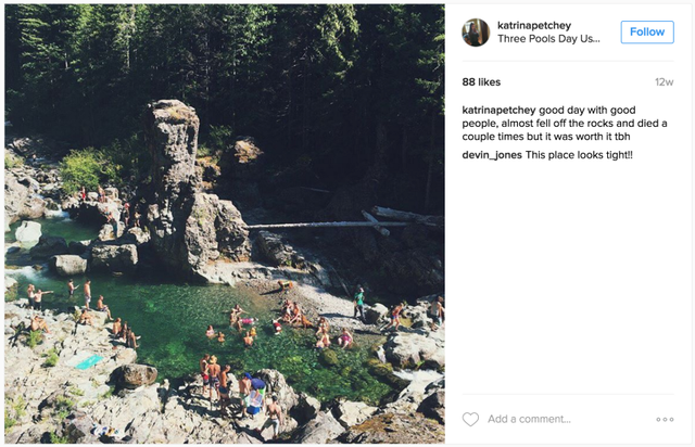 Những khu du lịch hoang sơ dần trở thành điểm đến hút khách của giới trẻ, và được chia sẻ rộng rãi trên mạng xã hội