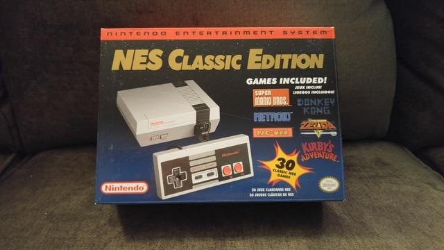 Hệ máy NES Classic Edition mới được Microsoft hồi sinh gần đây