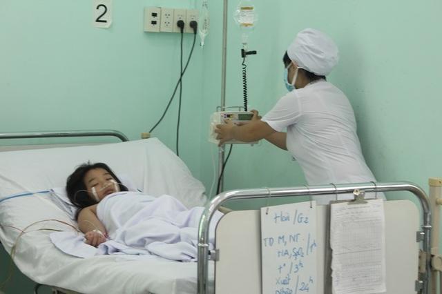 Các bệnh nhân SXH nặng tại Bệnh viện bệnh Nhiệt đới tỉnh Khánh Hòa, ngày 26/9
