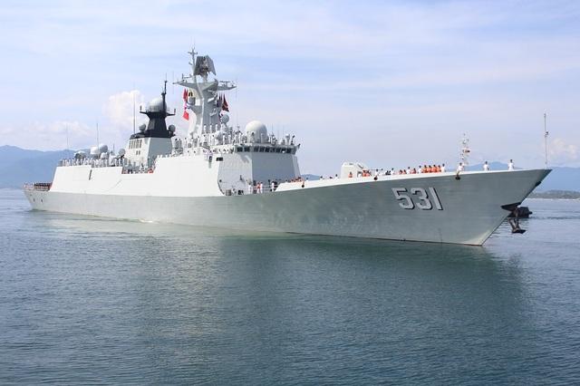 3 tàu Hải quân Trung Quốc thăm Cảng quốc tế Cam Ranh - 1