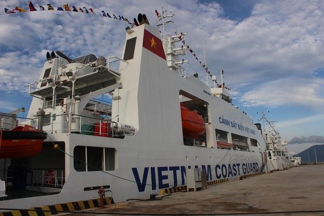Khánh Hòa tiếp nhận 2 tàu cảnh sát biển hiện đại hàng đầu Đông Nam Á - 2