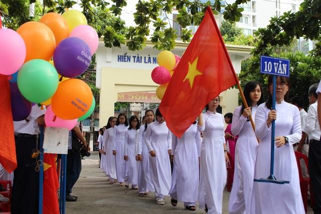 Học sinh THPT ở TP Nha Trang, Khánh Hòa - Ảnh: Viết Hảo