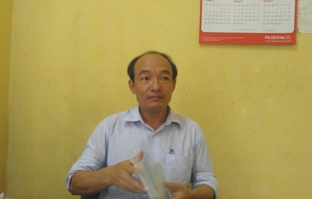 Thầy Nguyễn Thọ Bình - Hiệu trưởng Trường THCS Bình Sơn cho rằng, do nguồn kinh phí quá ít, không đủ trang trải