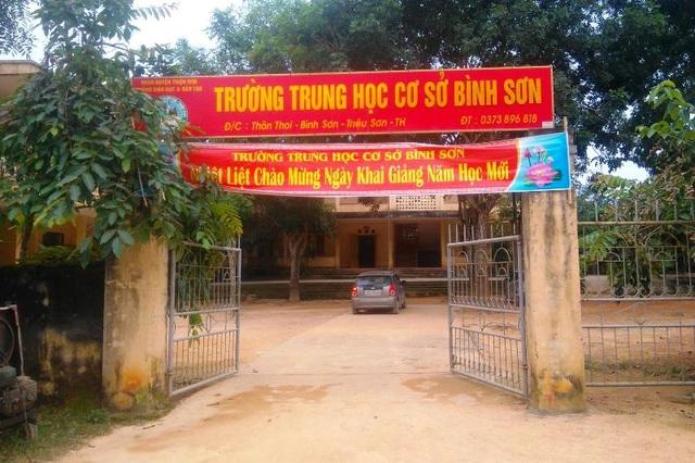 Trường THCS Bình Sơn, huyện Triệu Sơn