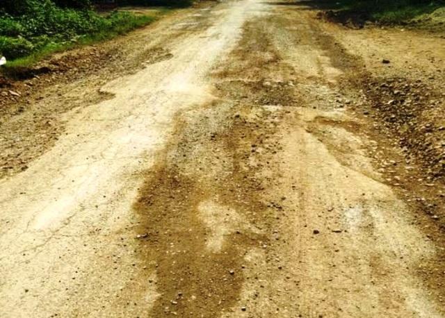 Kết cấu nền mặt đường xuống cấp nghiêm trọng