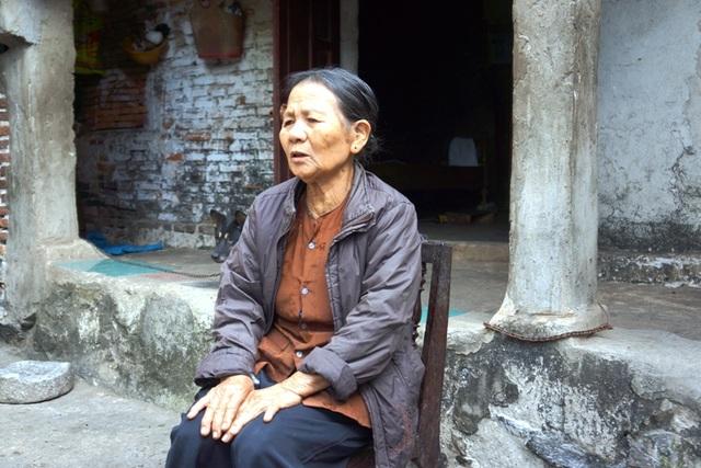 Bà Lê Thị Lũy là một trong số những hộ được nhận đền bù