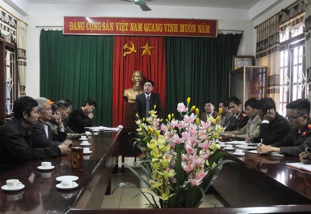 UBND phường Đông Cương tổ chức đối thoại với các hộ dân