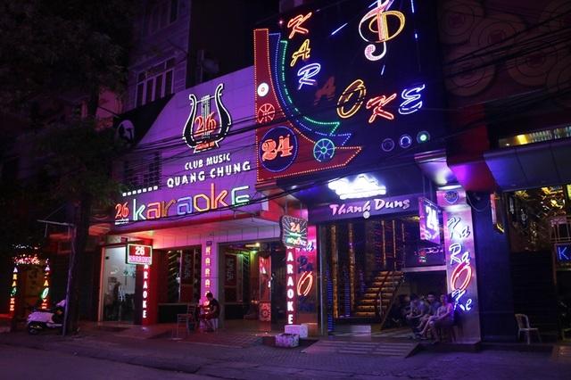 Trên địa bàn thành phố Thanh Hóa có rất nhiều quán karaoke
