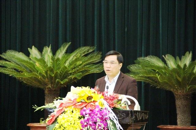 Ông Phạm Đăng Quyền - Phó Chủ tịch UBND tỉnh Thanh Hóa giải trình tại phiên chất vấn