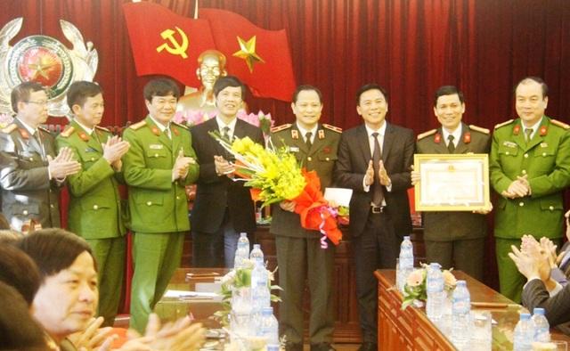Lãnh đạo tỉnh Thanh Hóa động viên, chúc mừng và thưởng nóng Ban chuyên án