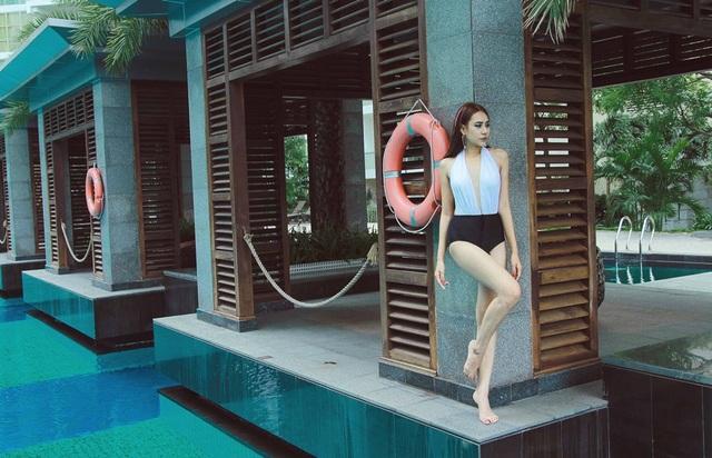 Miss Teen thân thiện Hồ Bích Trâm khoe vẻ gợi cảm với bikini - 13