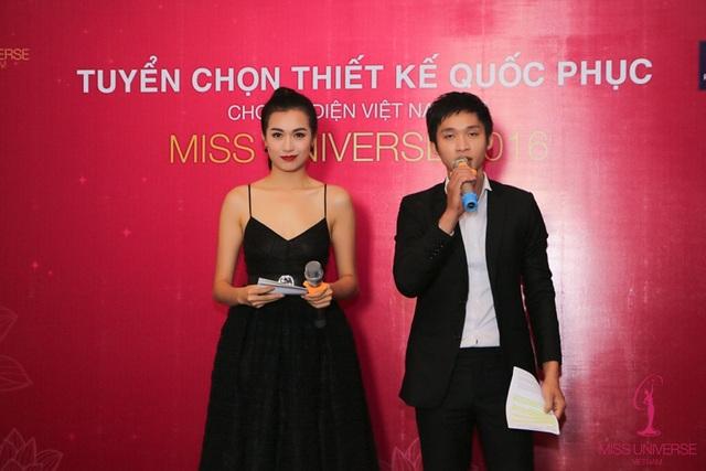 Đây là lần đầu tiên đơn vị giữ bản quyền cuộc thi Hoa hậu Hoàn Vũ tại Việt Nam tổ chức chương trình thiết kế quốc phục cho người đẹp Việt Nam tại đấu trường nhan sắc quốc tế này.