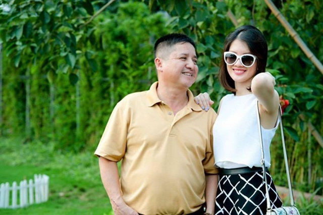 NSƯT Chí Trung và con gái