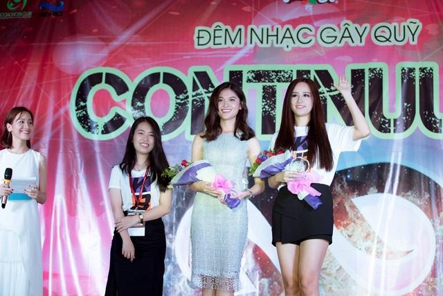 Ngoài Thùy Dung, sự kiện còn đánh dấu sự góp mặt của Hoa hậu Mai Phương Thúy trong vai trò Đại sứ.