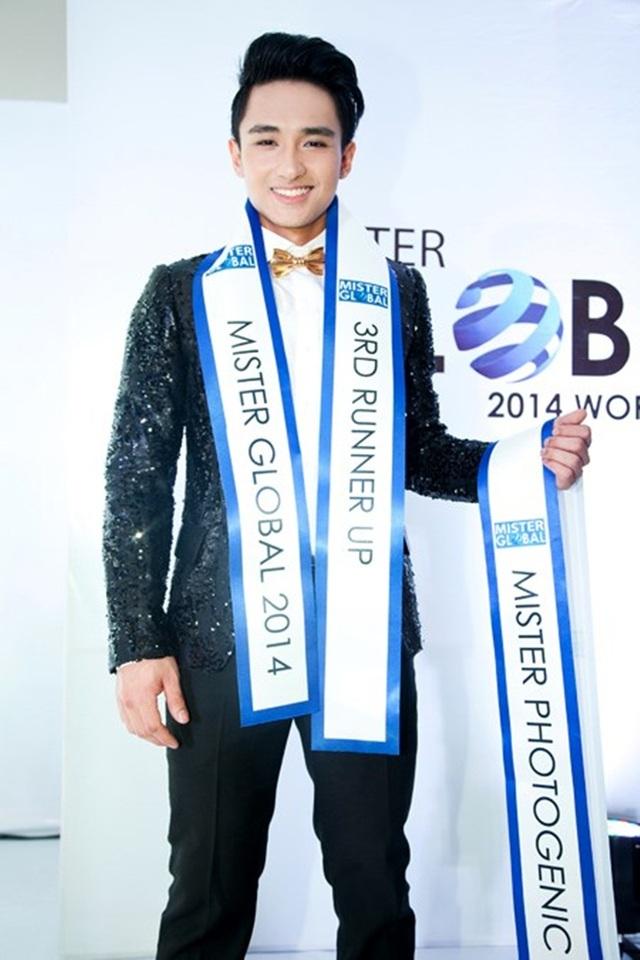 Trước đó, trong cuộc thi Mister Global diễn ra năm 2014 tại thành phố Pak Chong (Thái Lan), Hữu Vi đã giành được giải Á vương 3 chung cuộc và giải thưởng Nam vương Ảnh.