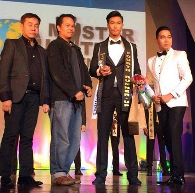 Người mẫu Quang Huân đoạt giải Á vương 4 cuộc thi Mister United Continents 2015.