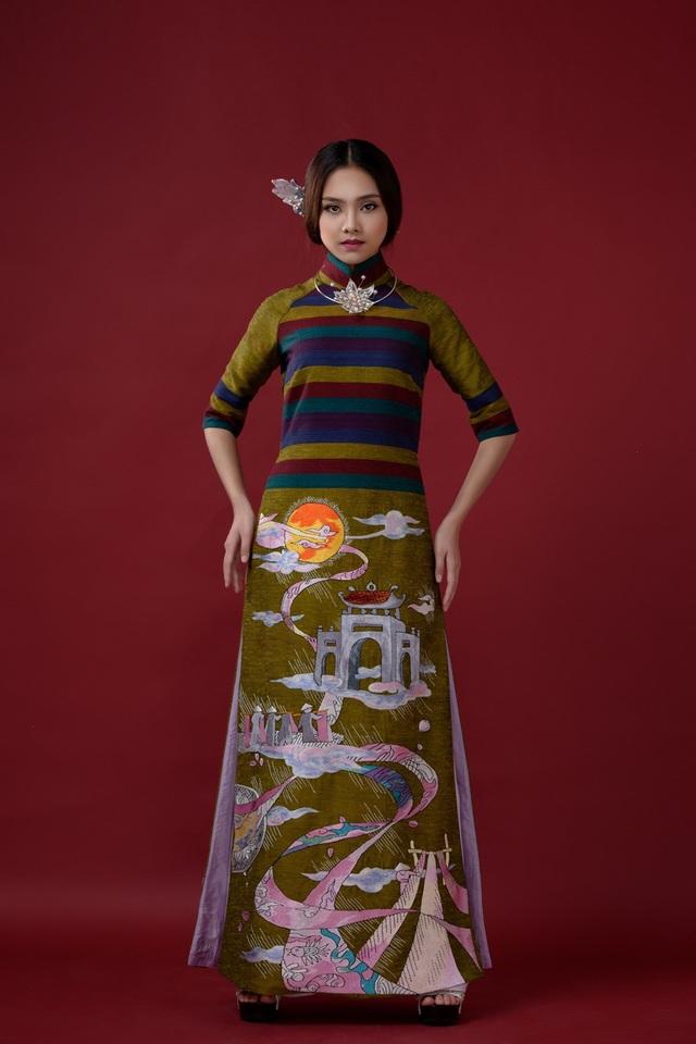 Cô gái sở hữu chiều cao 1m72 với vẻ đẹp trong sáng tiếp tục lọt top 10 Hoa hậu Việt Nam (HHVN) 2016 và giành giải phụ Thí sinh có gương mặt khả ái nhất.