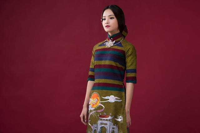 Gương mặt khả ái HHVN Tố Như hóa nàng thơ với áo dài Lan Hương - 4