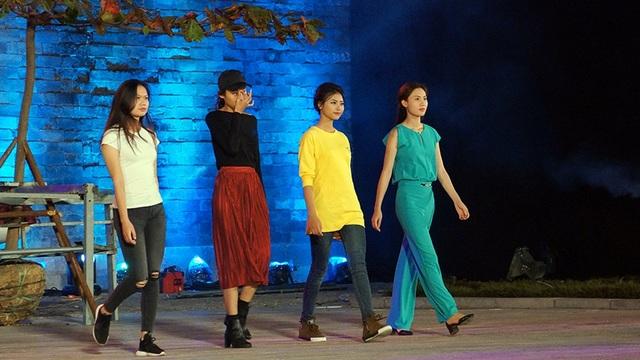 Đào Thị Hà - top 5 Hoa hậu Việt Nam 2016 tự tin với vai trò người mẫu.