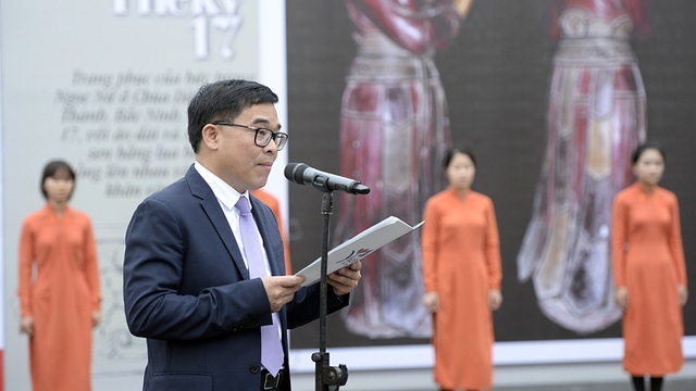 Ông Đỗ Đình Hồng phát biểu khai mạc.