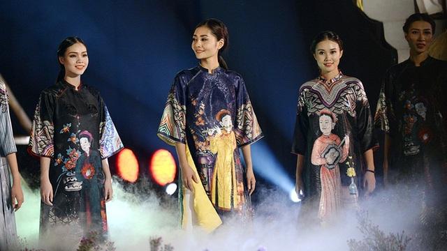 Những thiết kế áo dài tượng trưng cho vẻ đẹp của người con gái xưa.